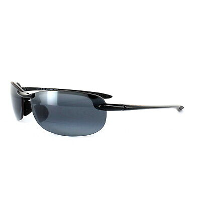 Maui Jim Sonnenbrille Makaha Readers G805-0225 Schwarz Grau Polarisiert +2.5