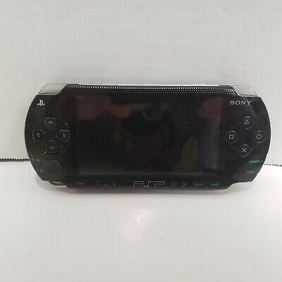 PSP 1001 Sony PlayStation Portable Handheld TESTED With Case Very Good Condition