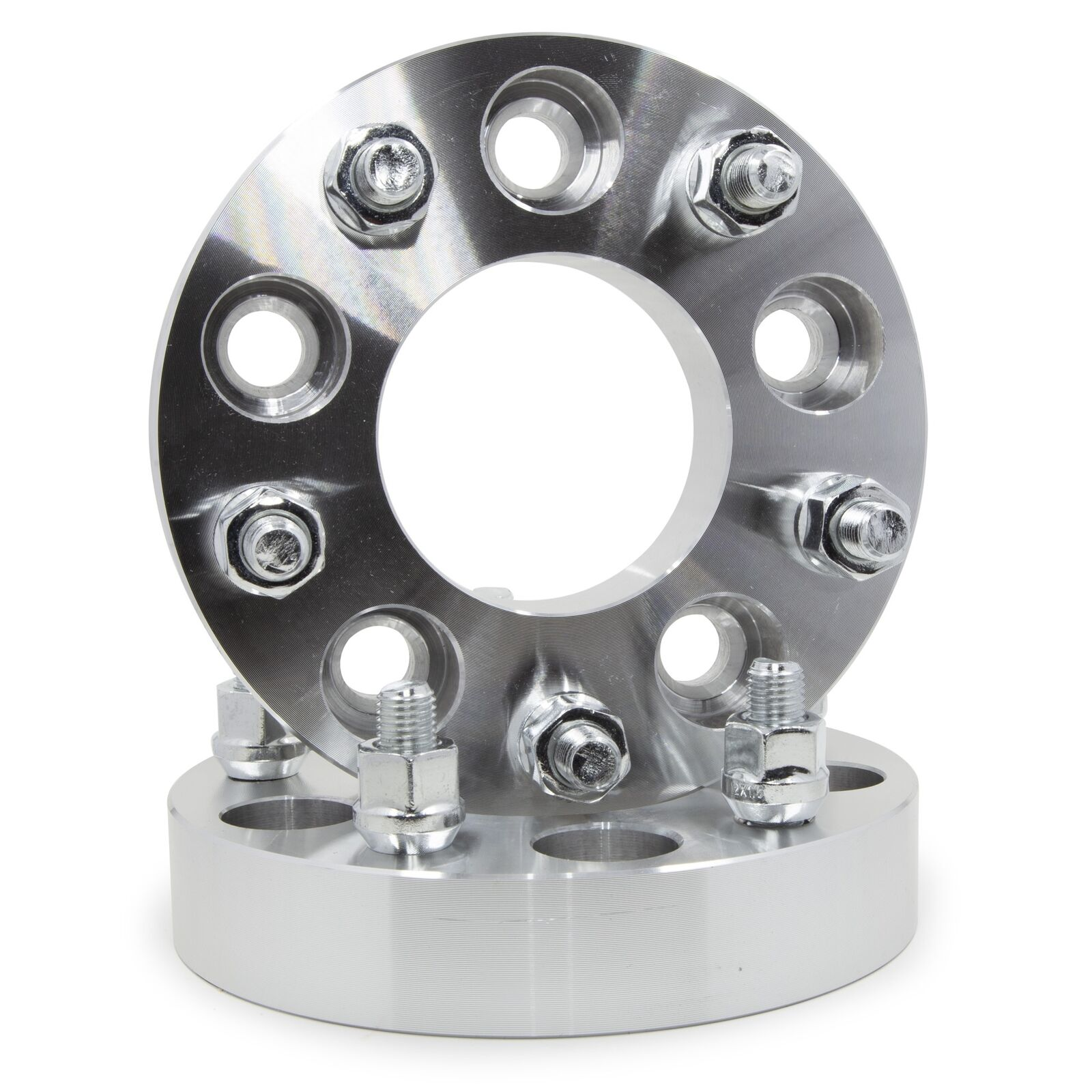 5x4.5 Wheel Spacers Adapters for Jeep Ford 5 lug studs 1 inch thick Wrangler 2pc