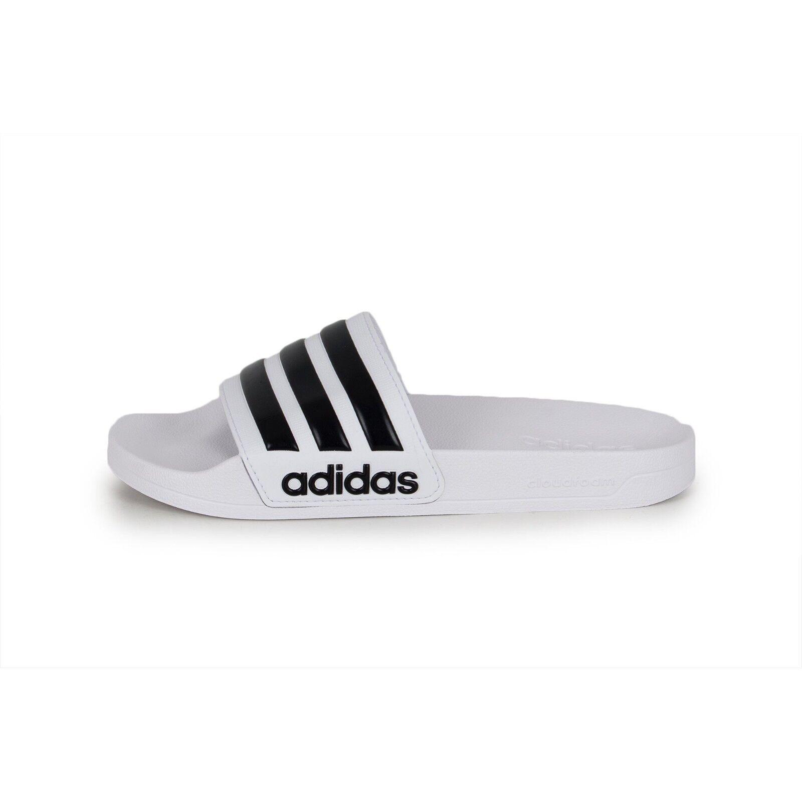 Adidas CF Adilette Slides Sandal Slippers AQ1702 White/Black