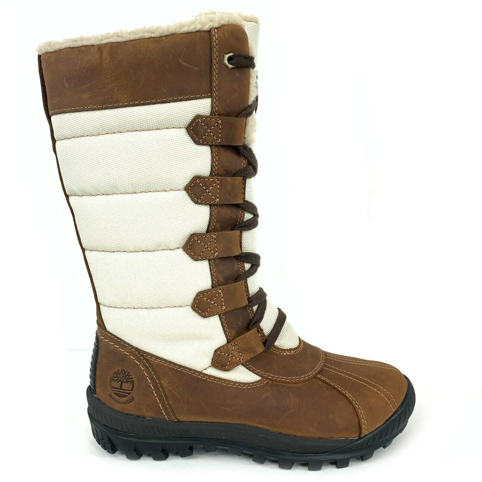 Timberland Women's MT. Hayes Tall Waterproof Brown Boots 6910B Size 6.5 1