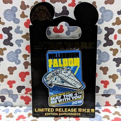 Millennium Falcon Pin 2018 Disney Star Wars May The 4Th Be With You Lr