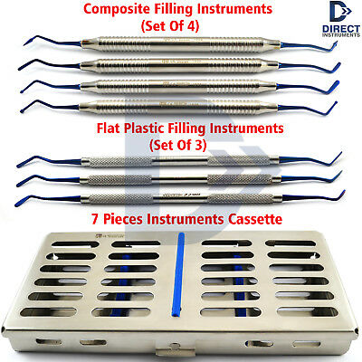 Dental Composite Filling Instruments Amalgam Anterior Placement Tools Cassette