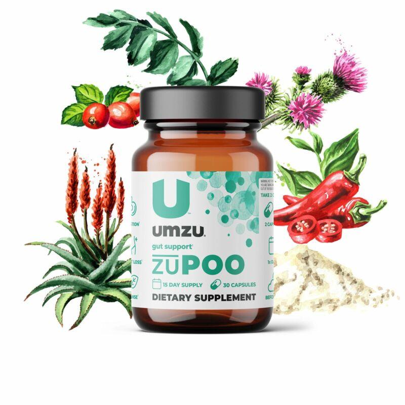 UMZU zuPOO: Colon Cleanse & Gut Support
