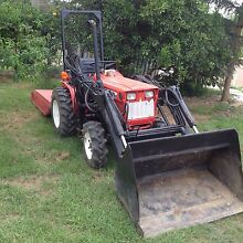 Yanmar 186D 4WD Loader with slasher Penrith Penrith Area Preview