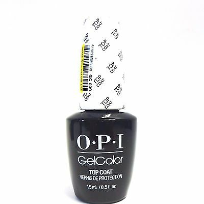 OPI GelColor Soak off Nail Polish Gel Color Top Coat  .5oz/15mL @@SALE@@