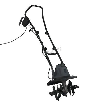 SwitZer Electric Tiller Rotovator Cultivator Rotavator Garden Gear TE01 1050W
