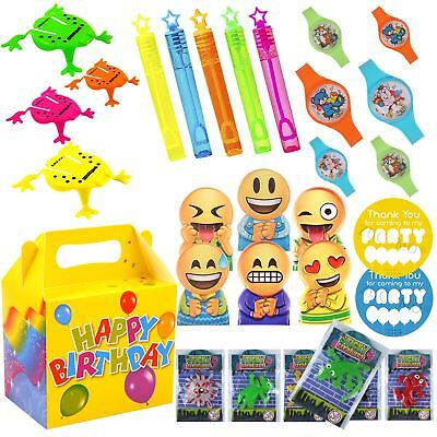 Party Bag Toys For Boys (Boys Girls Pre Packed Party Bags Boxes Birthday Bag Toys For Children)