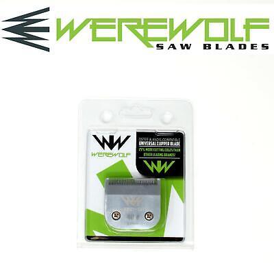 Werewolf Profesional Perro Esquiladora Hojas Tamaño 40 Para Oster , Andis ,...