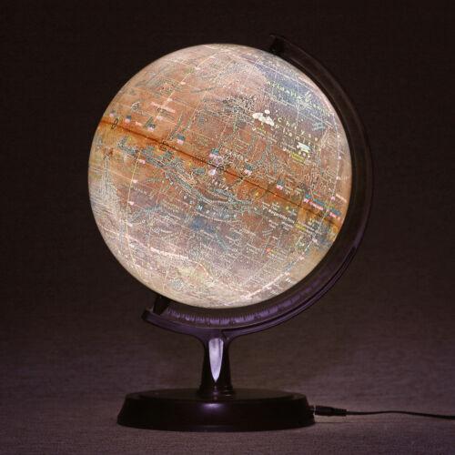 "Mapsoft Explorer Illuminated Mars Globe, 24cm/9.5"", RI-24, Lamp, Light, LED"