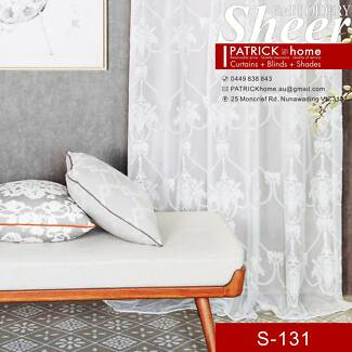 Sheer Romantic style Best Sheer for your Home(S-131)