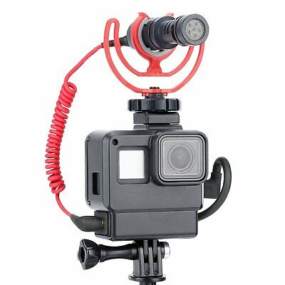 Ulanzi V2 Vlog Case Housing Shell for GoPro Hero 7 6 5 Black Vlogging Cage Frame