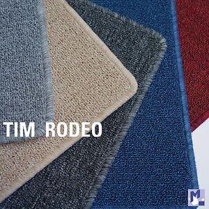 l ufer tim rodeo flacher schlingen teppich in 5 farben umkettelt vliesr cken. Black Bedroom Furniture Sets. Home Design Ideas