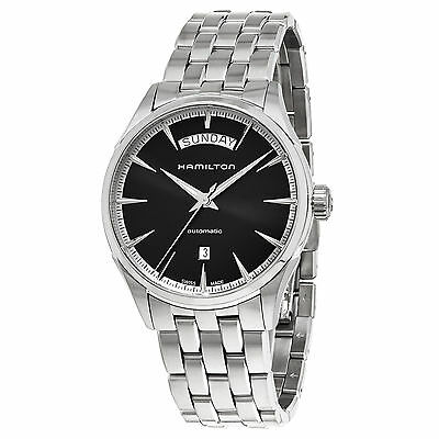Hamilton Men's Jazzmaster Black Dial Day Date Swiss Automatic Watch H42565131