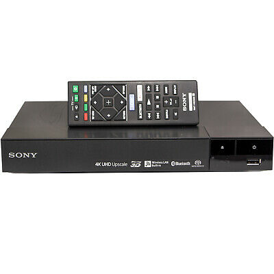 Sony BDP-S6700 4K Upscaling 3D Streaming Blu-Ray Disc Player BDPS6700 Black