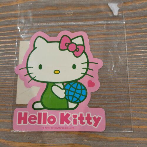 Sanrio Hello Kitty Save Our Planet Ecological 1976 2010 Exclusive Sticker Rare