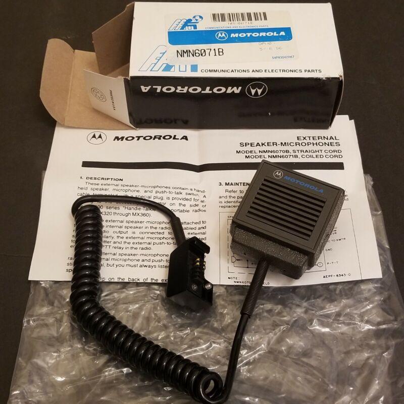 MOTOROLA - NMN6071B - Speaker Mic for MX300 Radios - Vintage - NEW