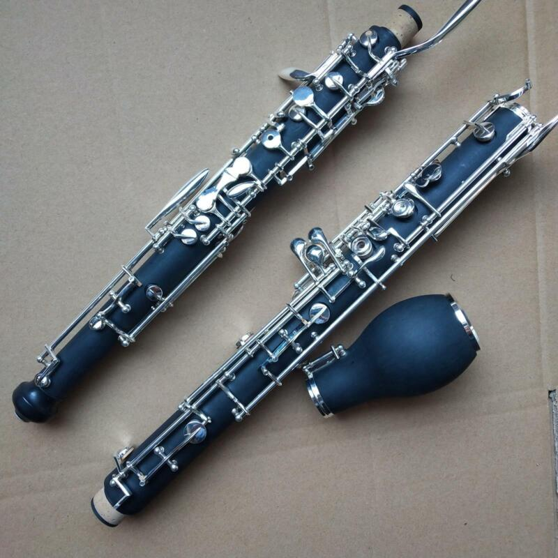 New British Oboe With Cases Composite Wood Good Material and Sound Band