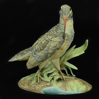 Woodcock Porcelain Sculpture By Edward Marshall Boehm