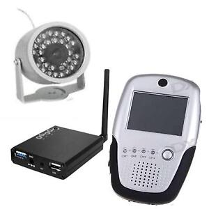Rechargeable wireless camera,  Palm  baby monitor and TV receiver Ascot Belmont Area Preview