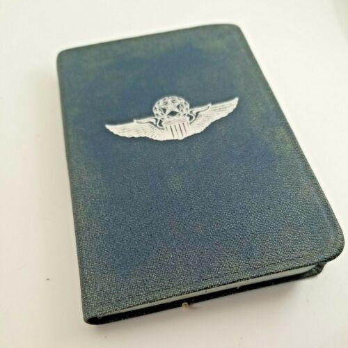 Vintage Cold War Era Unused US Military Air Force Address Book