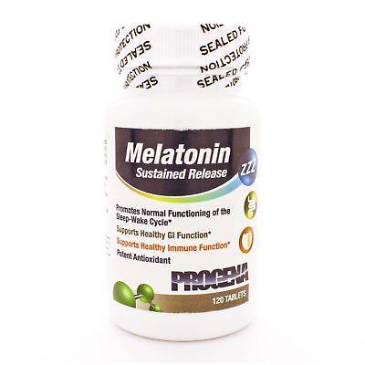Progena, Melatonin SR (Sustained Release) 3mg, 120 -