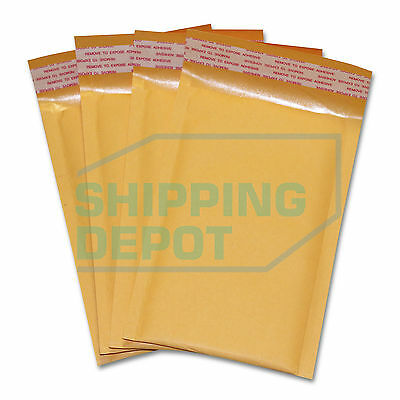 1-3000 0000 4x7 Small Kraft Bubble Pad Mailers Self Seal Envelopes 4x7