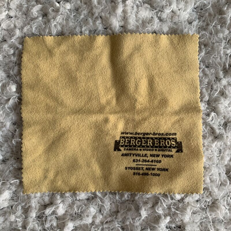 Berger Bros Lens Cleaning Cloth