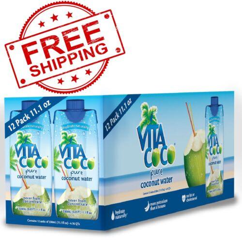 Vita Coco Coconut Water 11.1 oz., 12 pk. - FREE SHIPPING