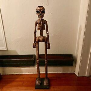 Halloween Skeleton Candle!
