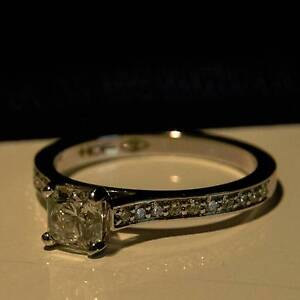 """18ct White Gold """"Hearts on Fire - Dream Cut"""" Engagement Ring Brisbane City Brisbane North West Preview"""