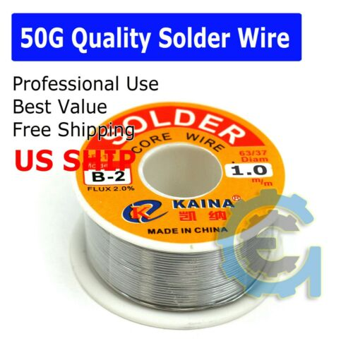 Lead Free Solder Wire Sn99.3 Cu0.7 with Rosin Core for Electronic 50gram 1.0mm