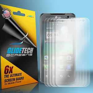 6X CLEAR LCD SCREEN SHIELD PROTECTOR FOR T-MOBILE LG OPTIMUS G2X 2X P990 P999