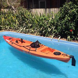 """Ocean kayak """"Finn Beachcomber Plus"""" - fishing and/or cruising. Alawa Darwin City Preview"""