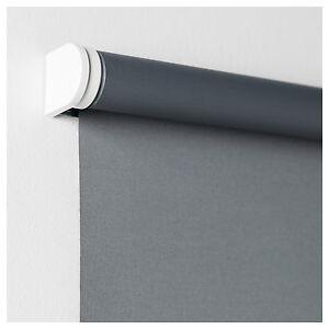IKEA TUPPLUR Grey Blackout Roller Blind 83 X 195cm 302.905.50 BRAND NEW SEALED