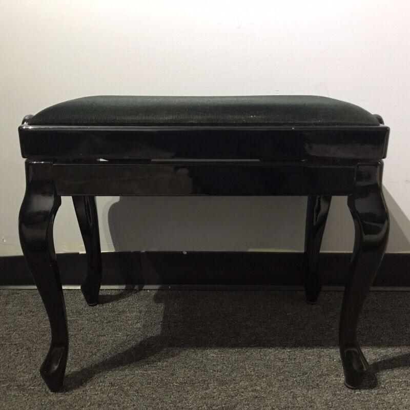 Discacciati Erminio Ebony Piano Bench