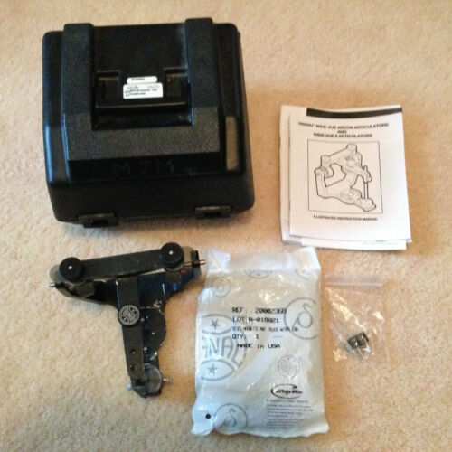 Hanau Wide-Vue Articulator Ref Kit 010885-000 With New Mounting Plates