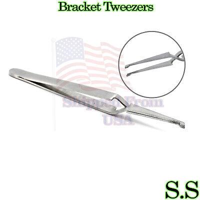 Wide Bracket Removing Placing Tweezers Pliers Orthodontic Dental Instruments