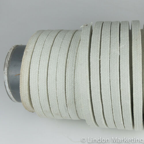 "PTFE Impregnated Compression Pump Packing 3/4"" square, approx. 125 feet"