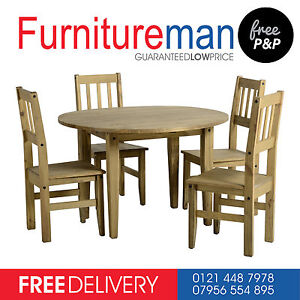 CORONA DINING TABLE AND CHAIR SETS /  DINING ROOM FURNITURE / STOOL MEXICAN PINE