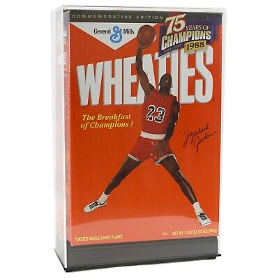 Saf-T-Gard Deluxe Acrylic 18 oz Cereal Box Display Case Holder - Wheaties #AG07 Acrylic Deluxe Box