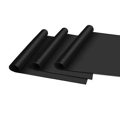 3er Set Dauer-BBQ-Grillmatte Glasfaser | Grillunterlage Backofenfolie Grillfolie