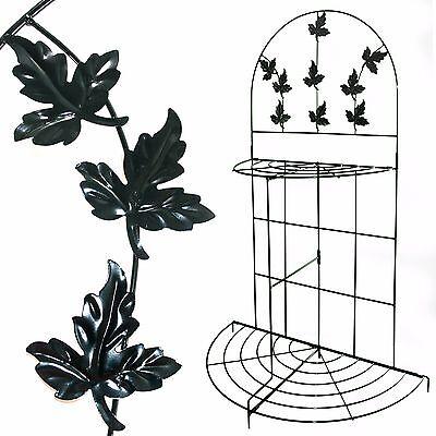 Pflanzenregal,Metall,klappbar,Blumentreppe,Rankhilfe,Blumenregal,Pflanzentreppe