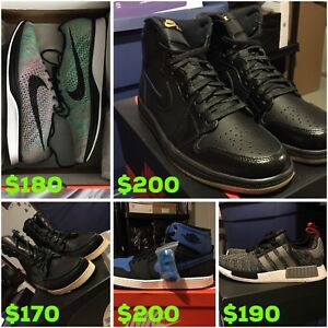ADIDAS JORDAN NIKE SPRING CLEANING!!!!! ALL SIZE 11 DS