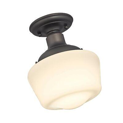 Westinghouse Lighting 6342200 Scholar One-Light Indoor Semi-Flush Ceiling Fix... - $58.99