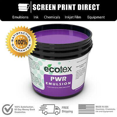 Ecotex Pwr Pre-sensitized Water Resistant Screen Printing Emulsion- 1 Qt.- 32oz