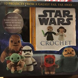 Star wars crochet kit 20$