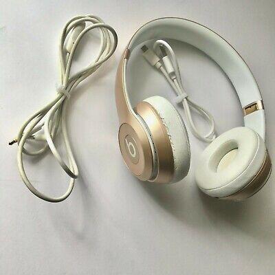 Beats by Dr. Dre Solo2 Rose Gold Wireless Headband Headphones [B0534]