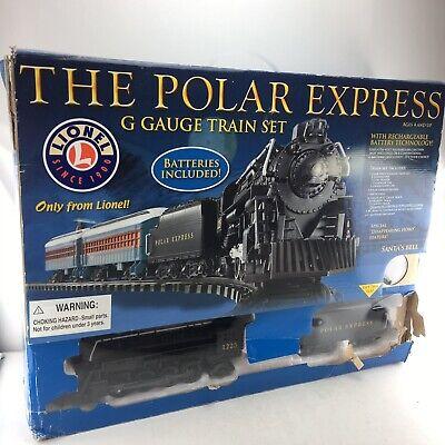 Lionel 7-11022 G-gauge The Polar Express Ready To Run Train Set X-Mas Train P03
