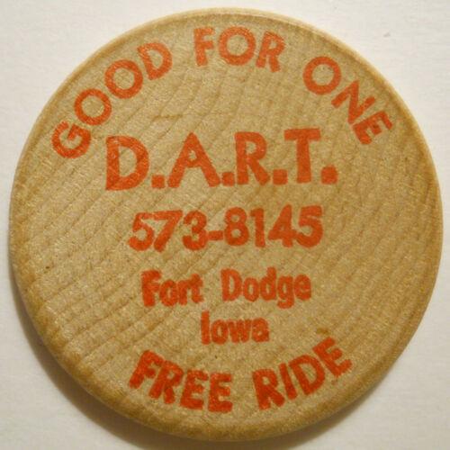D. A. R. T. (Fort Dodge, Iowa) transit token - IA380S